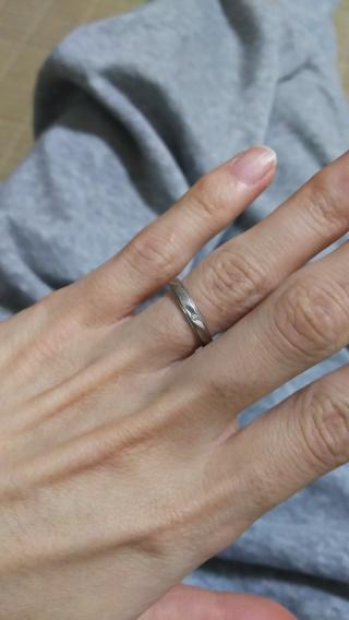 【Something Blue(サムシングブルー)の口コミ】 結婚式をしなかったけれど、指輪だけはお気に入りのものが欲しくてじっく…