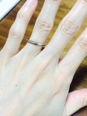 【A・D・A(エー・ディー・エー)の口コミ】 程よくウェーブがかっていて手が綺麗に見えると店員さんからオススメしてい…