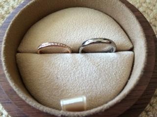 【COLANY(コラニー)の口コミ】 指輪はピンクゴールドでエタニティが良い、とずっと前から憧れがありまし…