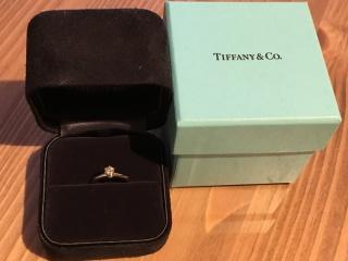 【ティファニー(Tiffany & Co.)の口コミ】 とにかく店員さんの接客が良く、ここにしようと決めた。指輪もシンプルなデ…