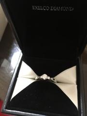 【エクセルコダイヤモンド(EXELCO DIAMOND)の口コミ】 長年つけていられるデザインを。 婚約指輪をタンスにしまうのではなくて、…