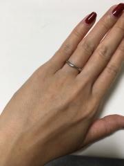 【ティファニー(Tiffany & Co.)の口コミ】 石はついてないシンプルな物がよく、普段つけていても馴染むデザインでな…