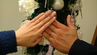 【フラー・ジャコー(FURRER-JACOT)の口コミ】 たくさんの指輪を見せてもらった中で 二人とも一目惚れしてしまいました‼ …