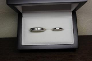 【JewelMIKI(ジュエルミキ)の口コミ】 鍛造という作りの指輪で、傷や変形に強い指輪ということでお勧めしてもら…