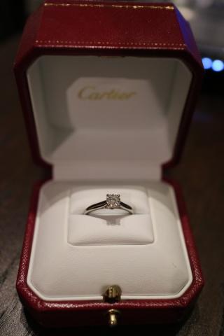 【カルティエ(Cartier)の口コミ】 シンプルだけど品のある指輪を探してました。 様々なお店で試しましたが、…