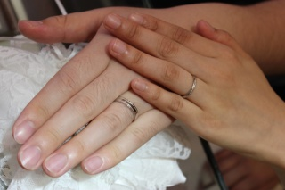 【JewelMIKI(ジュエルミキ)の口コミ】 二人で話して、「やっぱり結婚指輪は毎日使いたいよね」ということになり、…