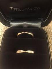 【ティファニー(Tiffany & Co.)の口コミ】 結婚指輪は憧れのTIFFANY&CO.と決めていて何度もお店に…