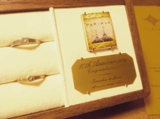 【PORTADA(ポルターダ)の口コミ】 スィートテン用に指輪を買い替え用に探していました。いろいろ探して3つに…