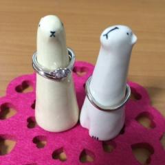 【TRECENTI(トレセンテ)の口コミ】 ゼクシィでフローラの婚約指輪のデザインを見て一目ぼれしました。 店舗に…