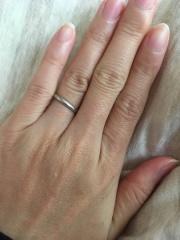 【MIKIMOTO(ミキモト)の口コミ】 初めは指輪にダイヤモンドが埋め込まれているタイプにしようと考えていたの…
