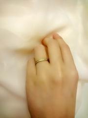 【ENUOVE(イノーヴェ)の口コミ】 結婚指輪はプラチナでシンプルな物とある程度決めていたのですが、いざ試着…