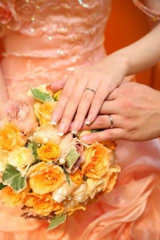 【ティファニー(Tiffany & Co.)の口コミ】 ずっと結婚指輪はティファニーでと、思っていました。結婚して念願かなっ…