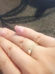 【カルティエ(Cartier)の口コミ】 当時、ずっと欲しかった指輪で、他のブランドは見ないで直接カルティエに…