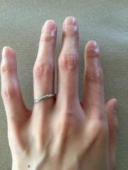 【Disney FANTASIA(ディズニーファンタジア)の口コミ】 はじめに購入していたディズニーファンタジアの婚約指輪・ステラシャワー…