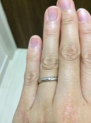 【ジュエリーツツミ(JEWELRY TSUTSUMI)の口コミ】 ダイヤが入っているのが良かったので、店員さんにも色々オススメしてもら…