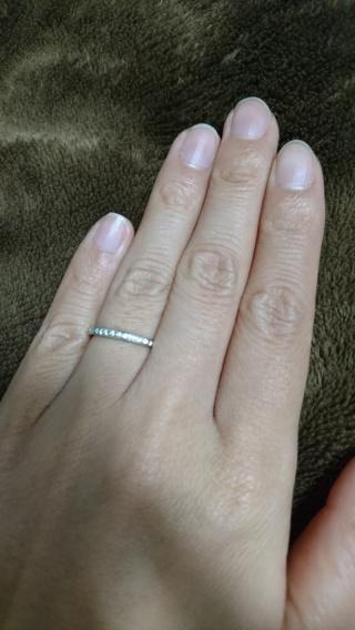 【俄(にわか)の口コミ】 結婚指輪はハーフエタニティに憧れていました。婚約指輪と結婚指輪はセット…