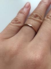 【Princess Bijou(プリンセス・ビジュー)の口コミ】 とにかく華奢な指輪を探し、ラインストーンが入った指輪や一粒ダイヤの指…