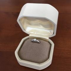 【和光の口コミ】 指輪の作りや接客から堅実な印象を受けたのでこちらに決めました。また知…