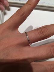 【Brilliant Story(ブリリアントストーリー)の口コミ】 結婚指輪を探すことになり、最初に行ったお店でした。どんなデザインのも…