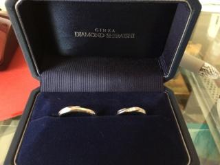 【銀座ダイヤモンドシライシの口コミ】 シンプルなデザインが良い、という希望が最初からありました。 店舗で試着…