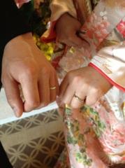 【1/f エフブンノイチの口コミ】 銀座の色々なお店をまわりましたが 決め手はなめらかなカーブが指にしっく…