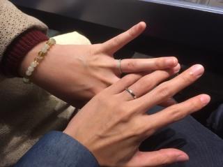 【銀座ダイヤモンドシライシの口コミ】 婚約指輪を購入しない代わりに豪華な結婚指輪が欲しいと思っていたので、…