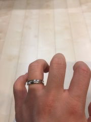 【JEWELRY  KAMATA(ジュエリーかまた)の口コミ】 婚約指輪を購入した時の店の方の対応がとても良かった為、結婚指輪もここに…