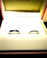 【ケイウノ ブライダル(K.UNO BRIDAL)の口コミ】 この指輪はオーダーメイドで作ってもらいました。私の方の指輪は付き合った…