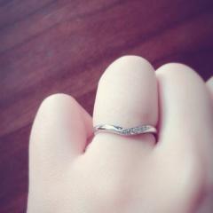 【ガラOKACHIMACHIの口コミ】 元々婚約指輪を同じお店で購入していたので、その後やはり特にブランド物が…