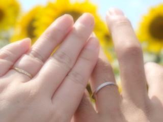 【アンジェリックフォセッテ(Angelique Fossette)の口コミ】 いろんなところに指輪を見に行きましたが、二人揃ってデザインが気に入り…