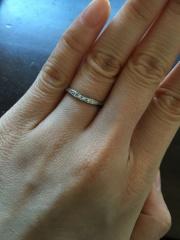 【ラザール ダイヤモンド(LAZARE DIAMOND)の口コミ】 婚約指輪としたもらった物がlazarediamondさんの指輪でした。…
