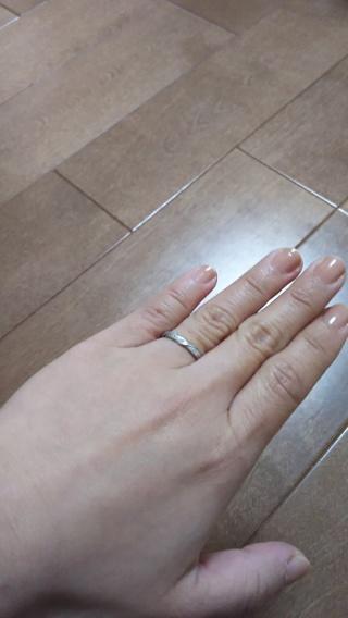 【JEWELRY  KAMATA(ジュエリーかまた)の口コミ】 私は手がとても小さいので細身の指輪がいいけど、夫は太めがいいとか、私は…