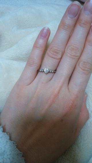 【アイプリモ(I-PRIMO)の口コミ】 デザインのかわいさとダイヤモンドのきれいさが決め手でした!2店舗見て比…