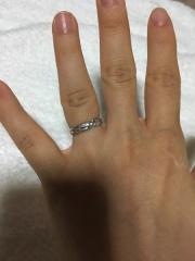 【レイジースーザン(LAZY SUSAN)の口コミ】 どんな指輪がいいかはざっとしか決めておらず、インターネットで調べて人…