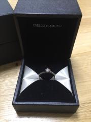 【エクセルコダイヤモンド(EXELCO DIAMOND)の口コミ】 この指輪は結婚指輪とあわせてつけたときにおしゃれだったので、決めました…