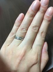 【JEWELRY  KAMATA(ジュエリーかまた)の口コミ】 何軒か指輪を見てもピンとこなく、理想の指輪を諦めかけてた時に主人と2人…