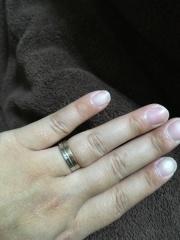 【Pinky&Dianne(ピンキー&ダイアン)の口コミ】 シンプルだけど 結婚指輪! ていう感じのが嫌だったのと あまり 周りと…
