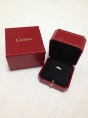 【カルティエ(Cartier)の口コミ】 カルティエというブランドに憧れがあり、結婚指輪はカルティエにしたいと決…