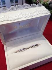 【Hamri(ハムリ)の口コミ】 一生使う結婚指輪なので妥協をしたくなかったのですが、 なかなかいいもの…