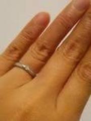 【ティファニー(Tiffany & Co.)の口コミ】 昔からティファニーの指輪に憧れていました。 結婚指輪はティファニーでと…