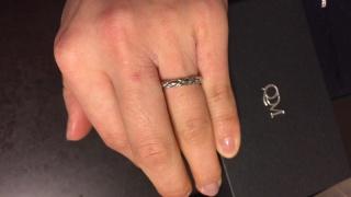 【QDMの口コミ】 デザインが可愛いし、とにかく安いのが魅力!結婚指輪はそんなに派手なも…