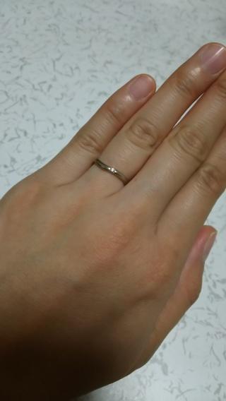 【Dolfani(ドルファーニ )の口コミ】 友人がこちらの指輪をしていて、すごく綺麗で憧れていたので、こちらにしよ…