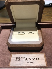 【TANZO(タンゾウ)の口コミ】 世界で一つだけの指輪で、鍛造製法で丈夫な事はもちろん、年1回のメンテナ…