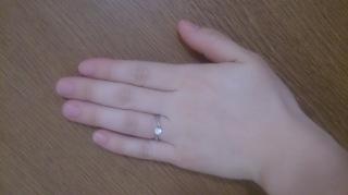 【ヴァンドーム青山(Vendome Aoyama)の口コミ】 彼に初めてプレゼントしてもらった誕生日プレゼントがここのリングでした。…