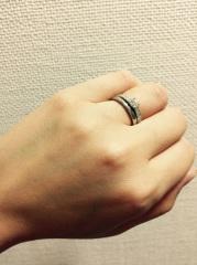 【TANZO(タンゾウ)の口コミ】 金属アレルギー持ちのため、指輪の材質にはこだわりました。 また、結婚指…