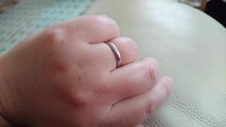 【ティファニー(Tiffany & Co.)の口コミ】 昔からあるブランドのティファニーで、どうしても結婚指輪が欲しかったので…