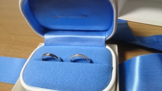 【銀座ダイヤモンドシライシの口コミ】 ダイヤきれいに見えて、付け方によって印象が変わるところがよかった!!!…