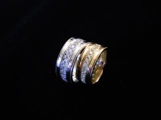 【Houte Couture Jewelry KIKUI Bridalの口コミ】 「結婚指輪は太めにしたいな…」と思って色々なブランドを見…