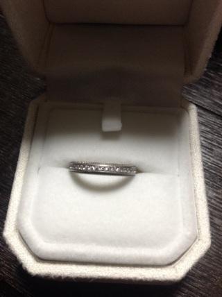【アイプリモ(I-PRIMO)の口コミ】 アンティークぽい雰囲気が好きでミル打ちの指輪を探していました。この指輪…