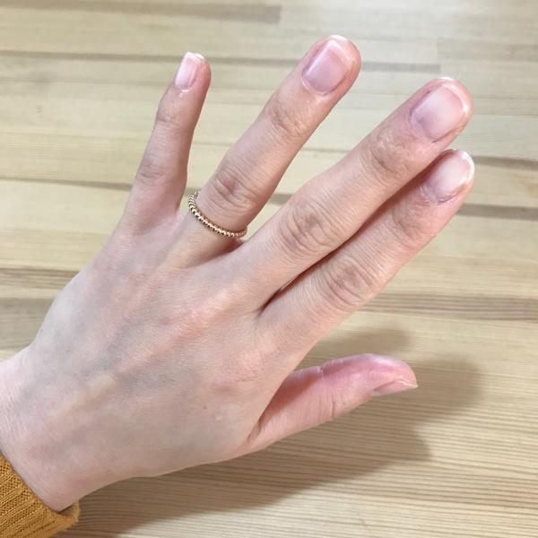 sale retailer b5942 e3927 結婚指輪にヴァンクリーフ&アーペルのペルレを選びました。検討 ...